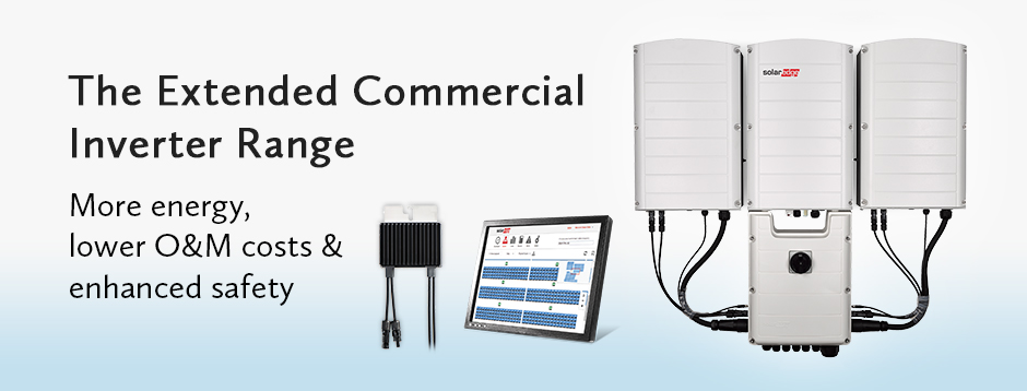 The Extended Commercial Inverter Range