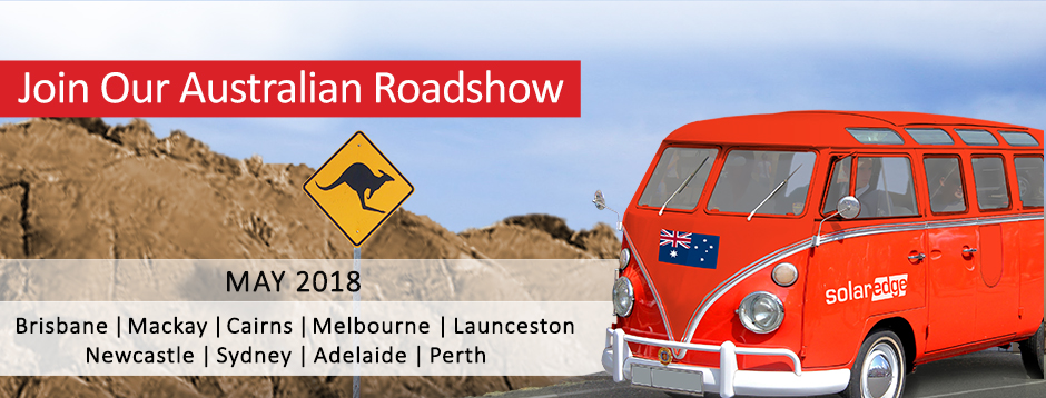 Join our Australian Roadshow. May 2018. Brisbane, Mackay, Cairns, Melbourne, Launceston, Newcastle, Sydney, Adelaide, Perth.