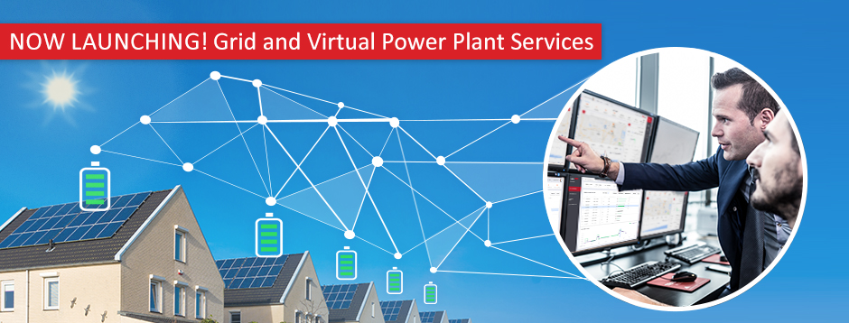 Now Launching! Grid and Virtual Power Plant Services
