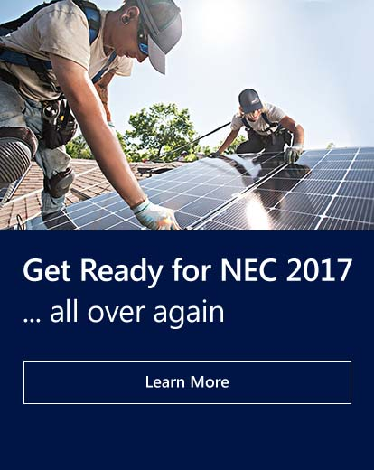 Get Ready for NEC 2017 all over again. Learn more