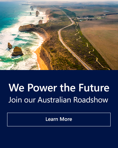 We Power the Future. Join our Australian Roadshow