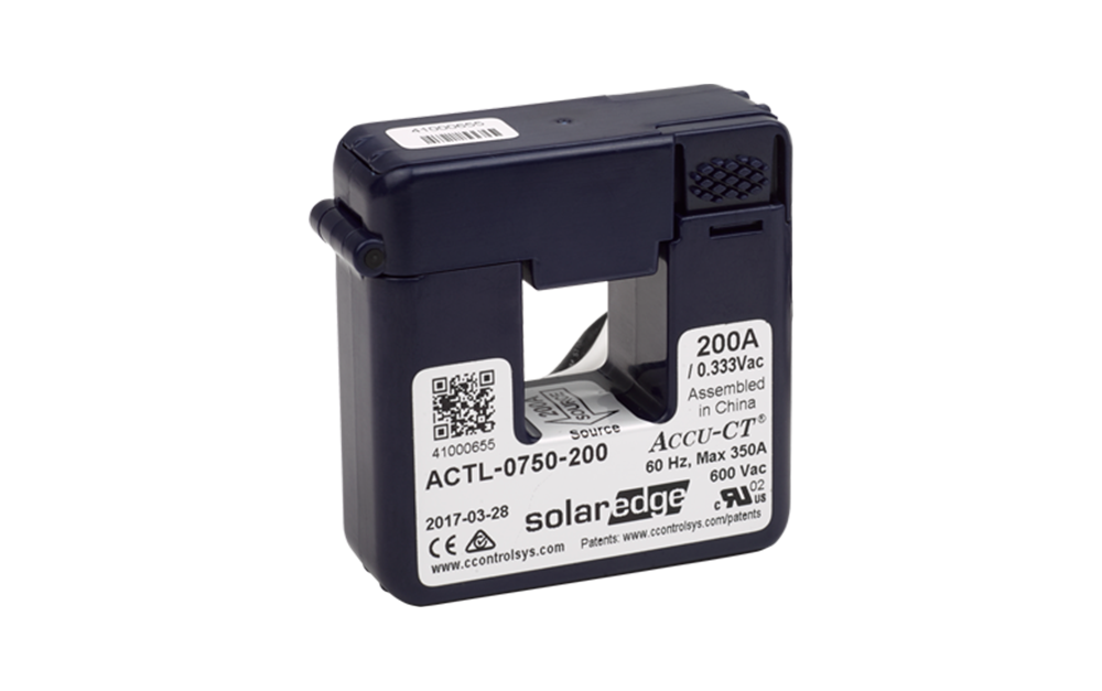 Current Transformers for SolarEdge Energy Meters image