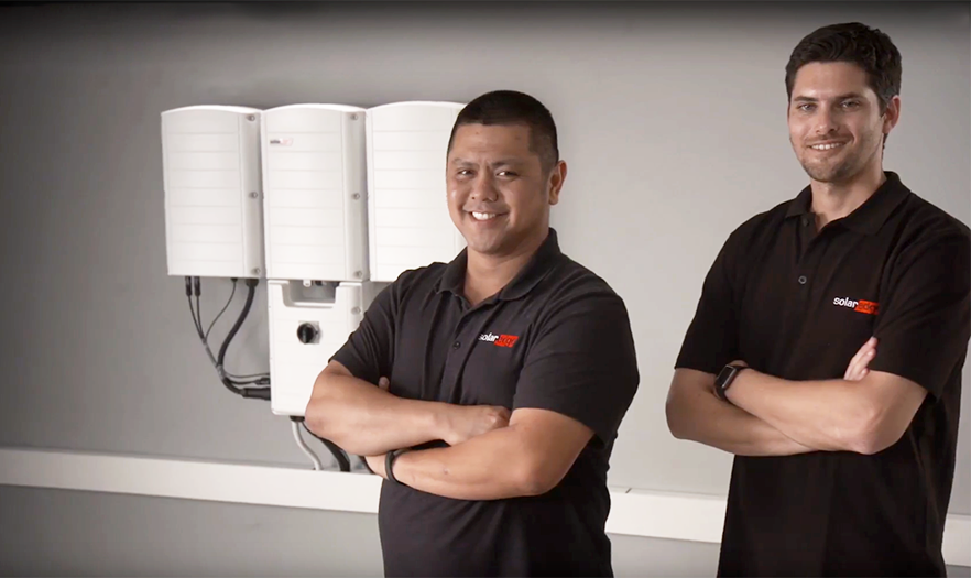 SolarEdge's Three Phase Inverters with Synergy Technology video