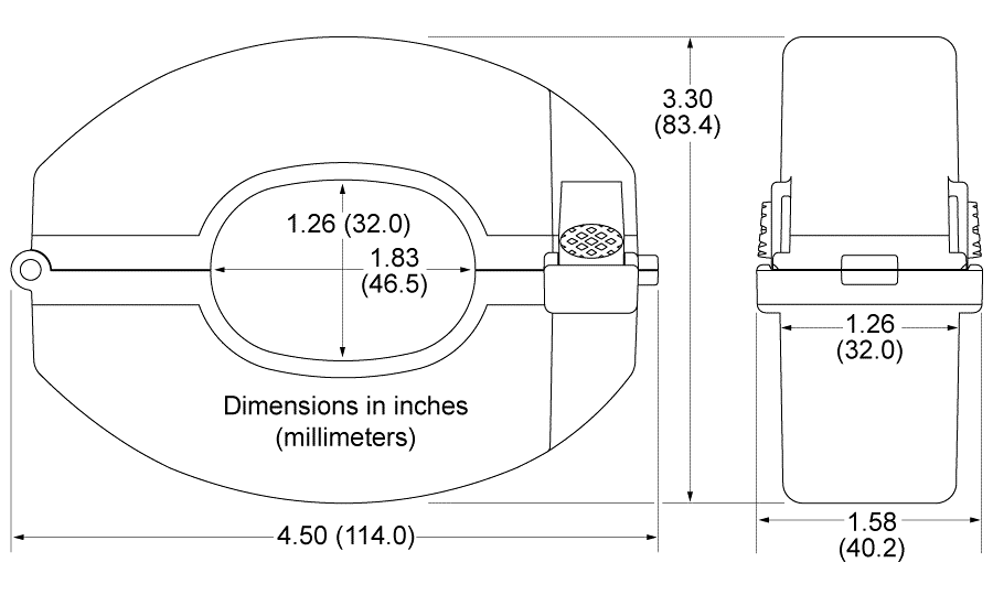 Current Transformer Dimensions image