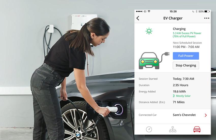 SolarEdge EV Charging image