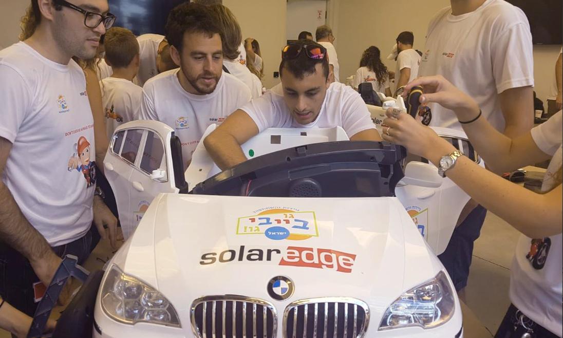 SolarEdge Employees Volunteer Work