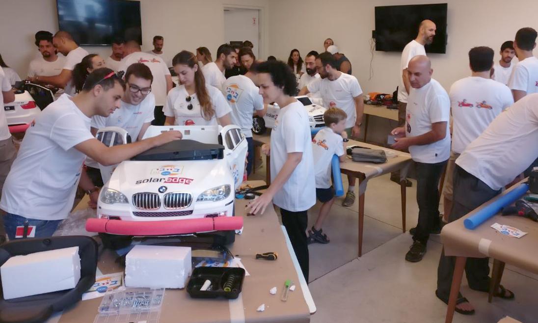 SolarEdge Volunteering for Go Baby Go