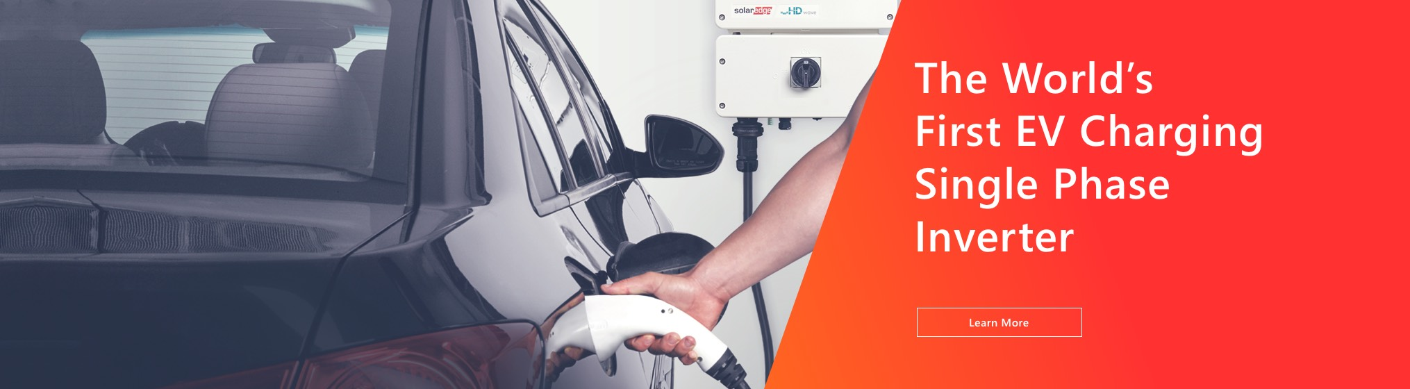 The World's First EV Charging Single Phase Inverter. Learn More
