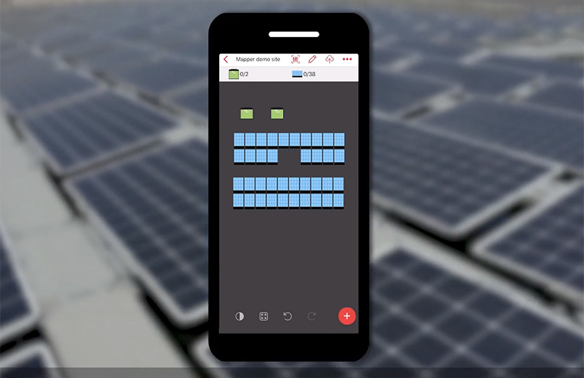 SolarEdge Mapper App – Mapping Existing Sites Demo