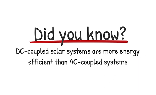 SolarEdge Did you know: DC-coupled vs AC coupled solar systems