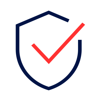 Advanced safety features icon