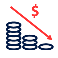 Decrease Expenses icon