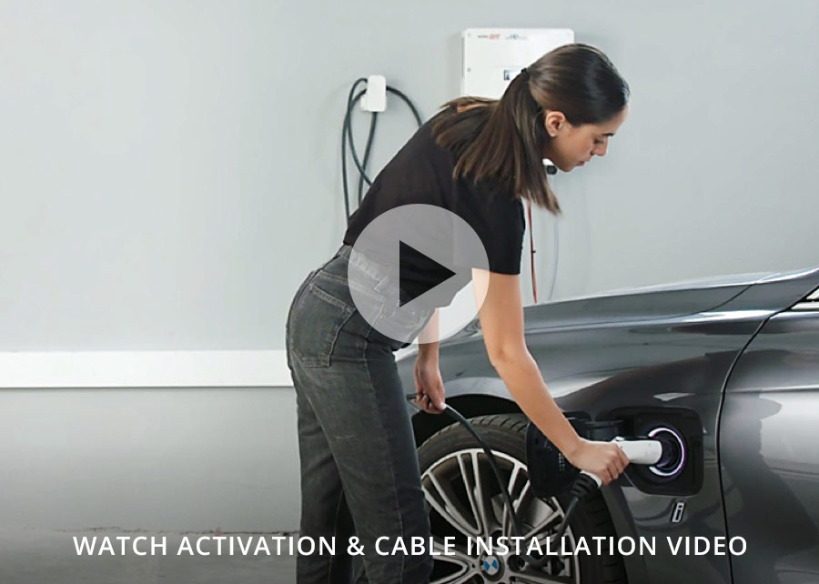 Watch activation and cable installation video