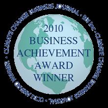 2010 Business Achievement Award Winner