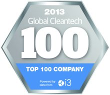 2013 Global cleantech 100. Top 100 company