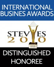 International Business Awards Stevies 2010 Distinguished Honoree