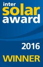 InterSolar Award 2016 Winner